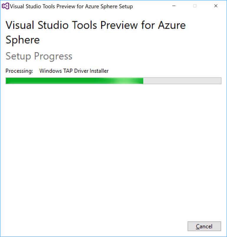 Azure Sphere VS Tools.PNG