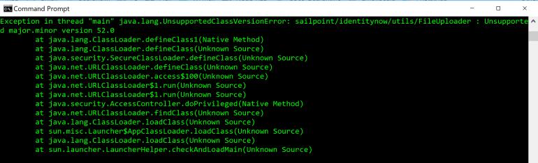 Wrong Version of Java.PNG