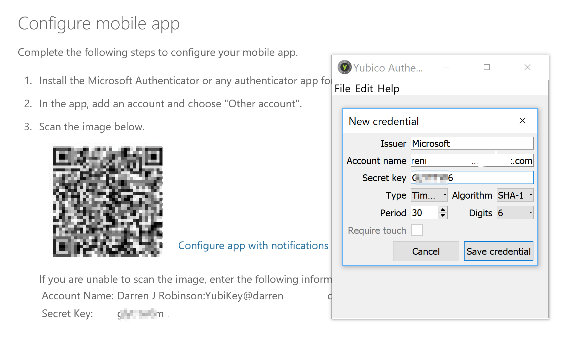 Enrolling and using both Microsoft Authenticator and a