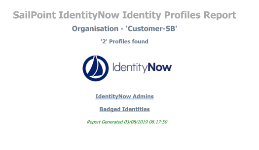 SailPoint IdentityNow Identity Profiles Report.PNG