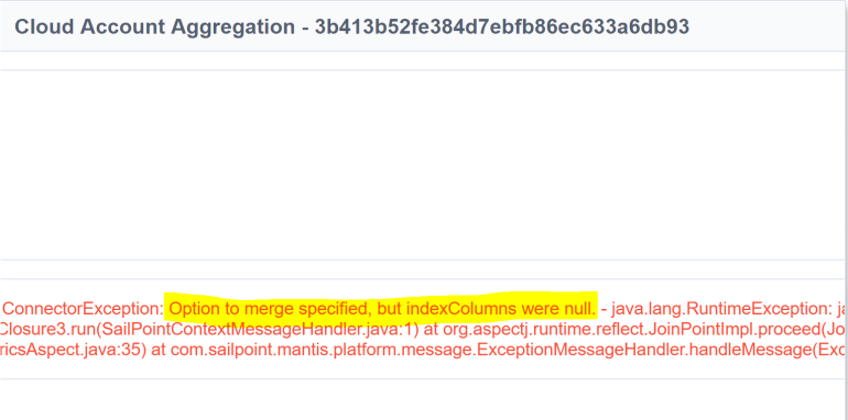 Options to Merge but Index Columns were null.PNG