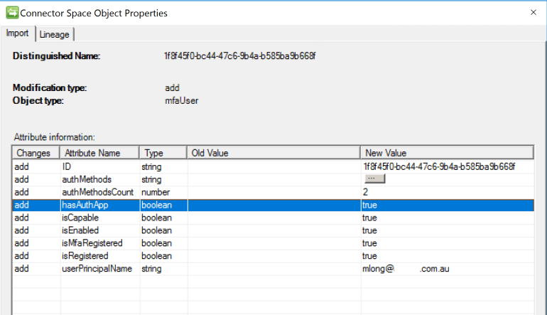 Azure MFA User Reporting Management Agent User MFA Object Attributes.PNG