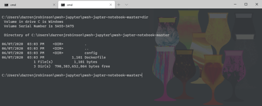 Download PowerShell Jupyter Notebook Dockerfile