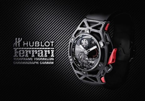 Hublot Techframe Ferrari Tourbillon Chronograph Carbon