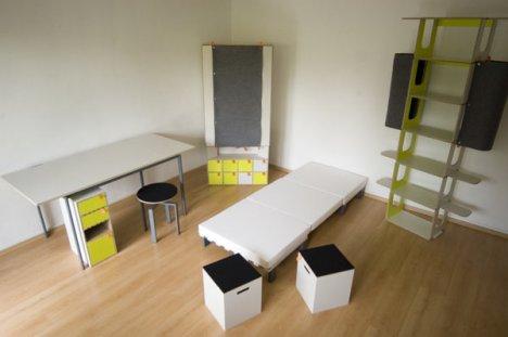 Casulo - Eine Zimmereinrichtung in einer Box