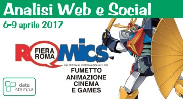 Romics 2017 - Cover Analisi web e social