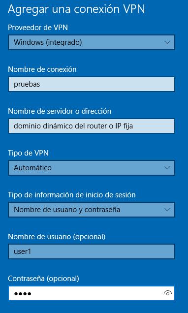 PPTP client2 - ¿ Cómo Configurar una VPN entre nuestro PC y un router Teltonika ?