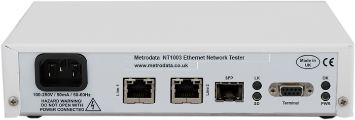 nt1003 network performance assurance tester - Un completo medidor Gigabit Ethernet por menos de 500,00 EUR