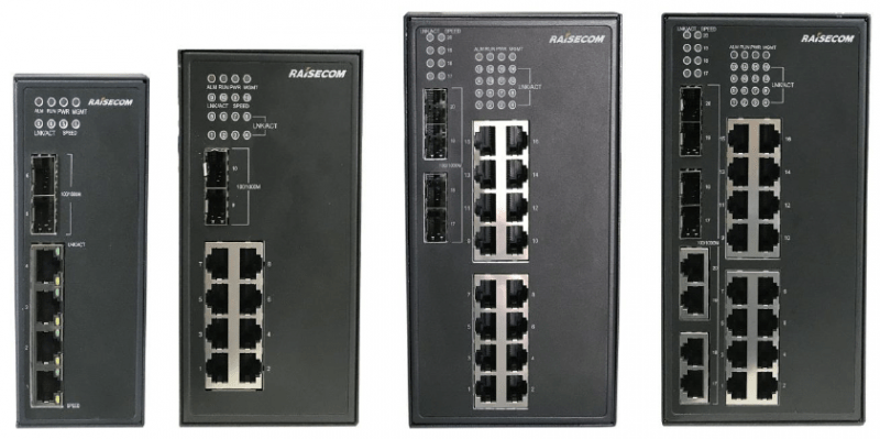 S1000i LI family - Gazelle S1000i-LI - Nueva familia de switches industriales de Raisecom basados en SO Linux