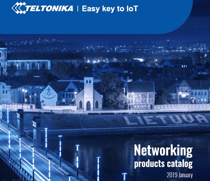 Descárgate el nuevo Catálogo de routers de Teltonika 2019