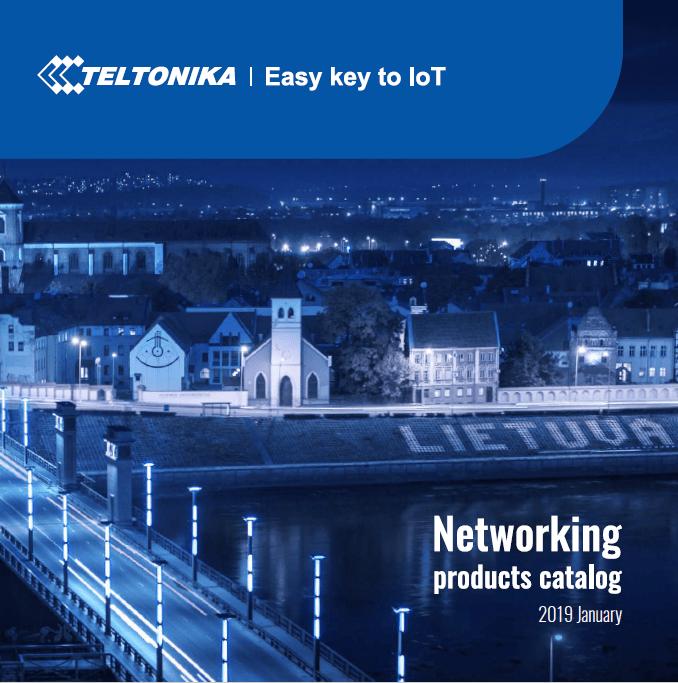 2019CatalogueTeltonika - Descárgate el nuevo Catálogo de routers de Teltonika 2019