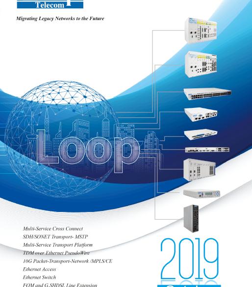 Descárgate el nuevo Catálogo de Loop Telecom 2019