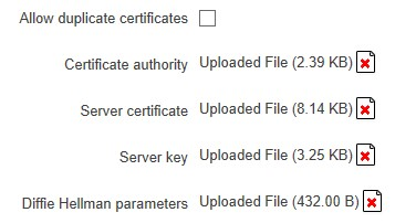 server certificates - ¿ Cómo crear una VPN con OpenVPN y routers Teltonika ? (II)