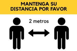 distancia social - Solución para distanciamiento social en el trabajo - Covid 19