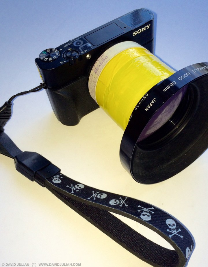 Sony DMC-RX100III camera play-proofed for Burning Man 2015