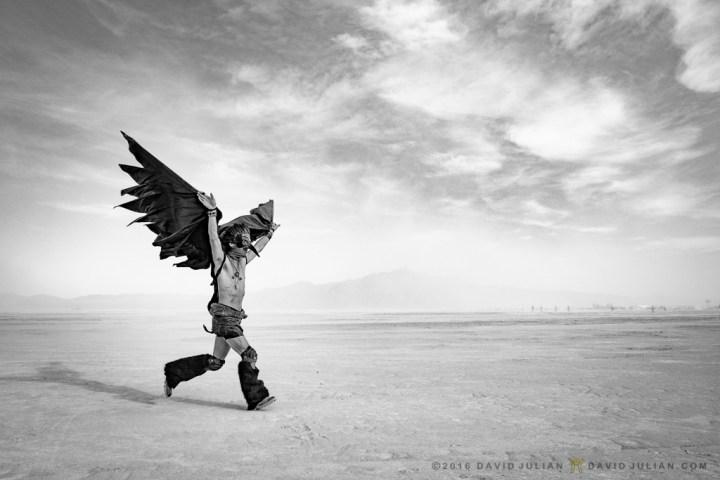 Ryan the Crow Running\