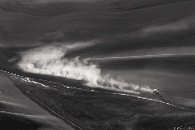 Tractor Dust Plume, Palouse