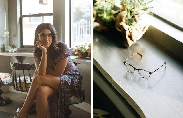 stephanie beatriz eyeglasses glasses eyewear