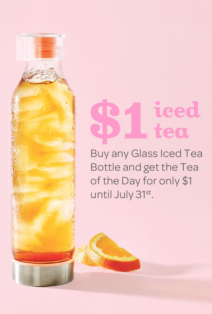 Image result for davids tea fresh mint glass iced tea bottle