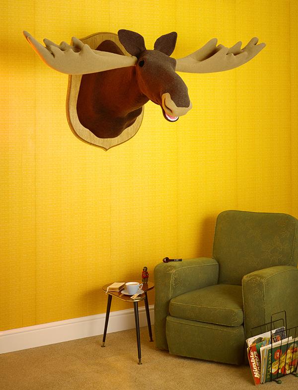Woolly mammals Moose