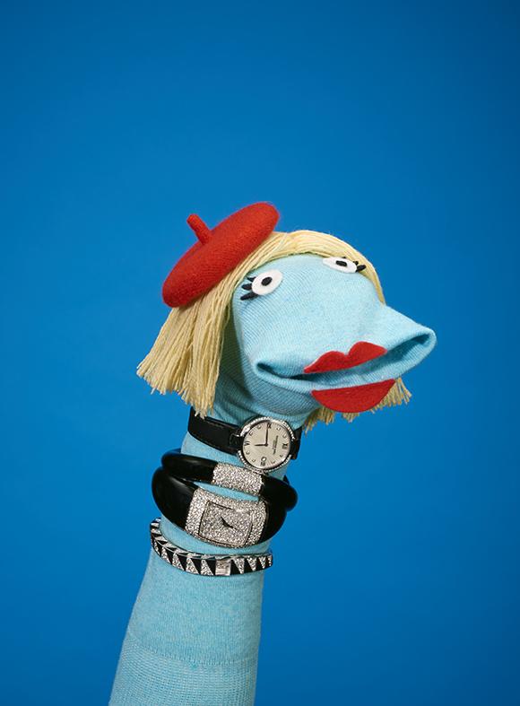 David Sykes Tatler sock puppets 2