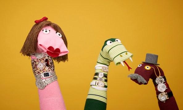David Sykes Tatler sock puppets 4