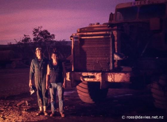 Theiss Bros yard Mt Tom Price North-West Australia