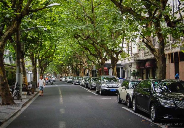 Street view French Concession Shanghai