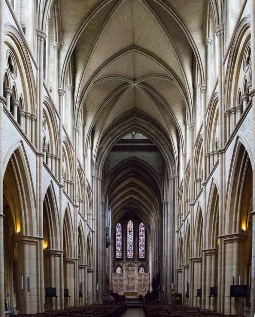 The Nave of Truro Cathedral Cornwall