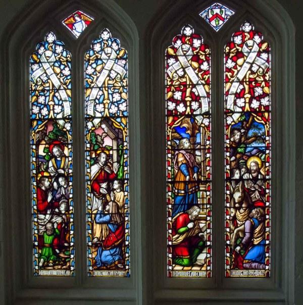 Windows Truro Cathedral Cornwall