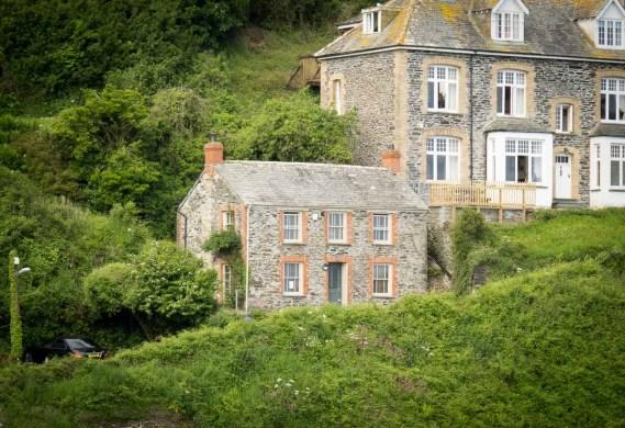 Doc Martin's house, Port Isaac
