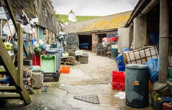 Fish market Port Isaac