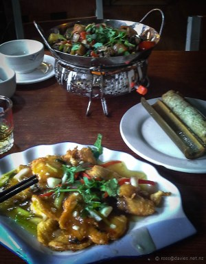 Meal at A Ma Yi restaurant Lijiang Old Town