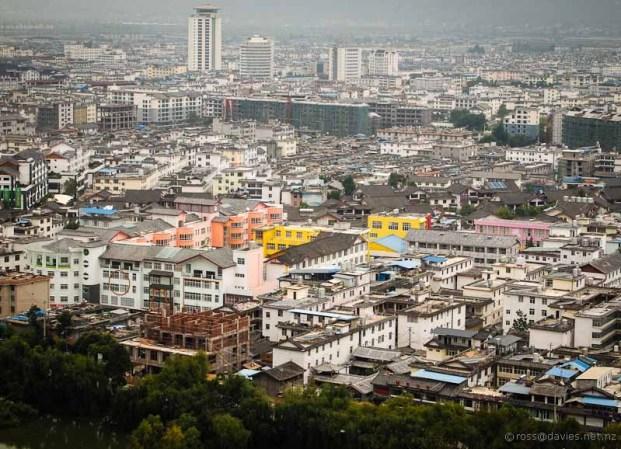 Lijiang City from Elephant Hill