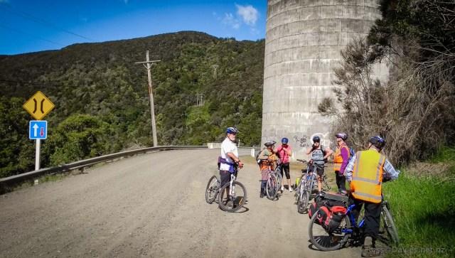 Bike ride Waipori Gorge