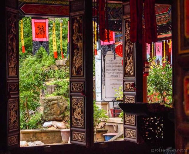 Temple Shibao Mountain