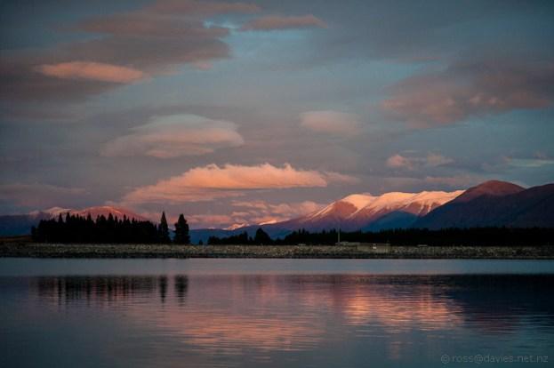 Sunrise Lake Pukaki