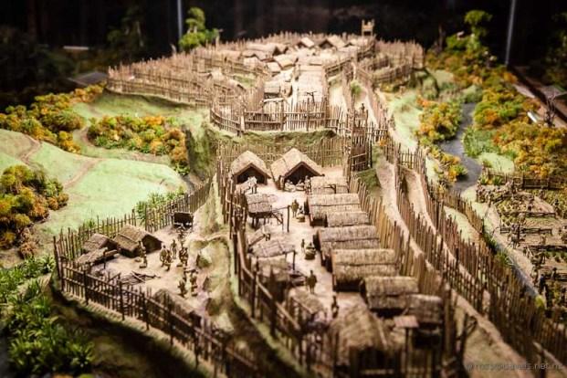 Tawhiti Museum diorama Turuturu Mokai pa