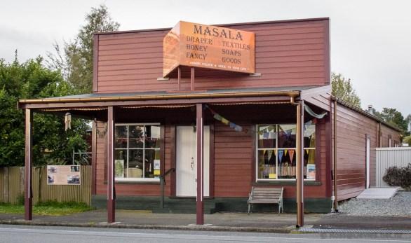 The old drapers shop Kumara