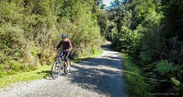 Pedaling up, going down the valley
