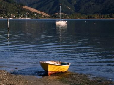 Boats at Anakiwa
