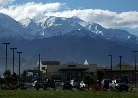 Mountain view from Kaikoura
