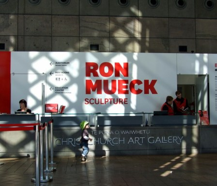 Ron Meuck sculpture exhibition