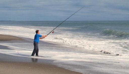 Surfcasting - Bay of Plenty
