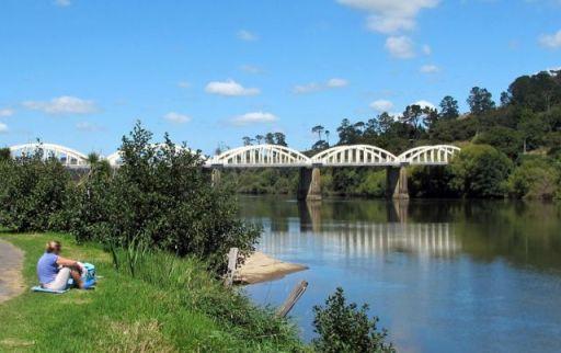 Waikato River at Tirau