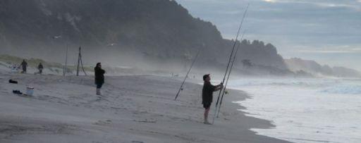 Surfcasting at Matata - Bap of Plenty