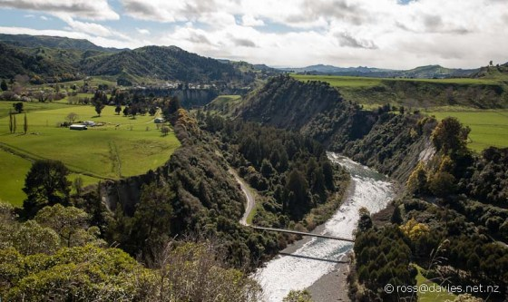 Rangitikei River at Maungaweka