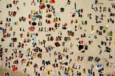 Bondi Beach by Brian Brake