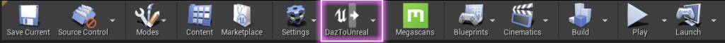 a screenshot showing the Bridge plugin in Unreal
