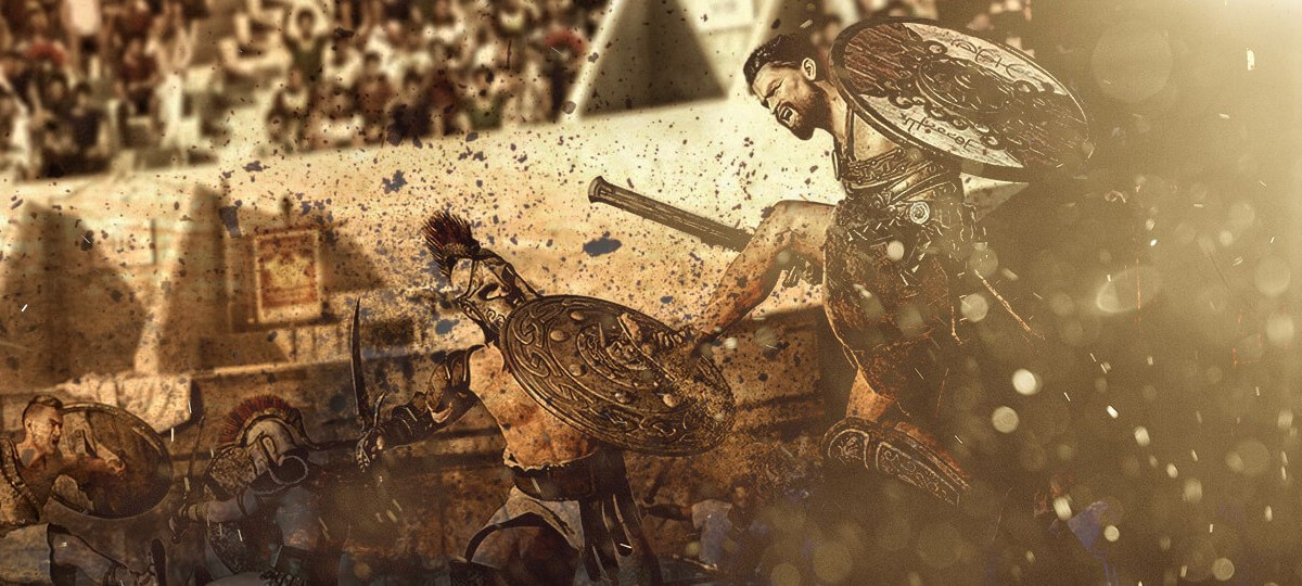 3d poses gladiator arena